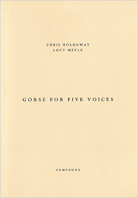 Gorse for five voices