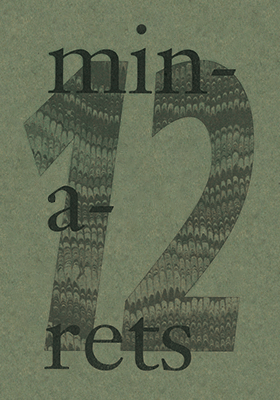 Book cover for Minarets Issue #12 / 2021